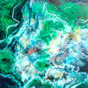 (CreativeWork) Ivy by Trudy Lowndes. resin. Shop online at Bluethumb.
