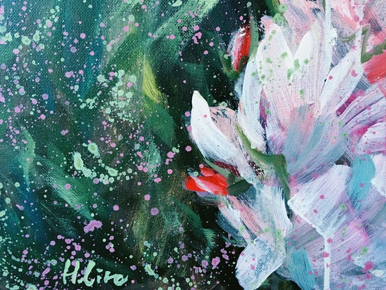 (CreativeWork) To Love Fiercely And Fearlessly  -LIMITED EDITION GICLEE PRINT Ed. 1 of 100 by HSIN LIN. Print. Shop online at Bluethumb.