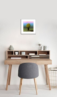 (CreativeWork) The introvert one (framed) Ed. 3 of 250 by Patricia Van Lubeck. Print. Shop online at Bluethumb.