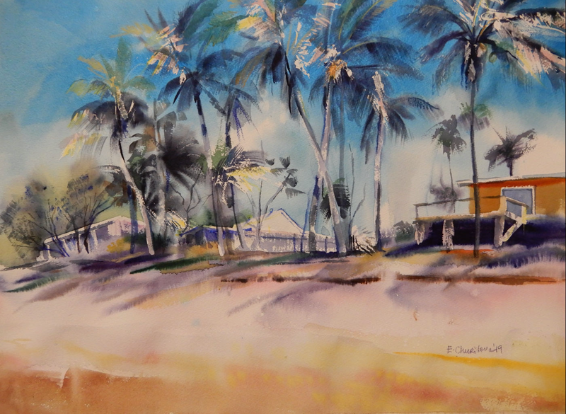 (CreativeWork) Life in the sun by Elena Churilova. Watercolour Paint. Shop online at Bluethumb.