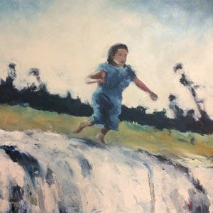 (CreativeWork) Almost Free by Dylan Cooper. arcylic-painting. Shop online at Bluethumb.
