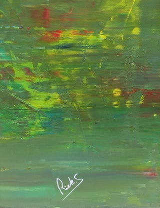 (CreativeWork) Réflexions 1 L'automne  by Rick Smith. Acrylic Paint. Shop online at Bluethumb.