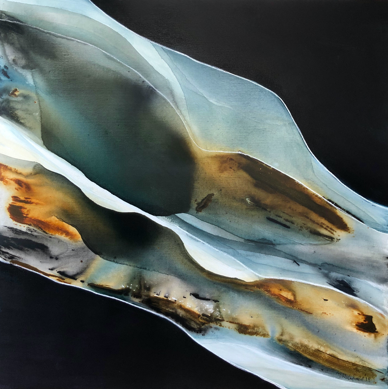 (CreativeWork) Passages 4 by Dinah Wakefield. Acrylic Paint. Shop online at Bluethumb.