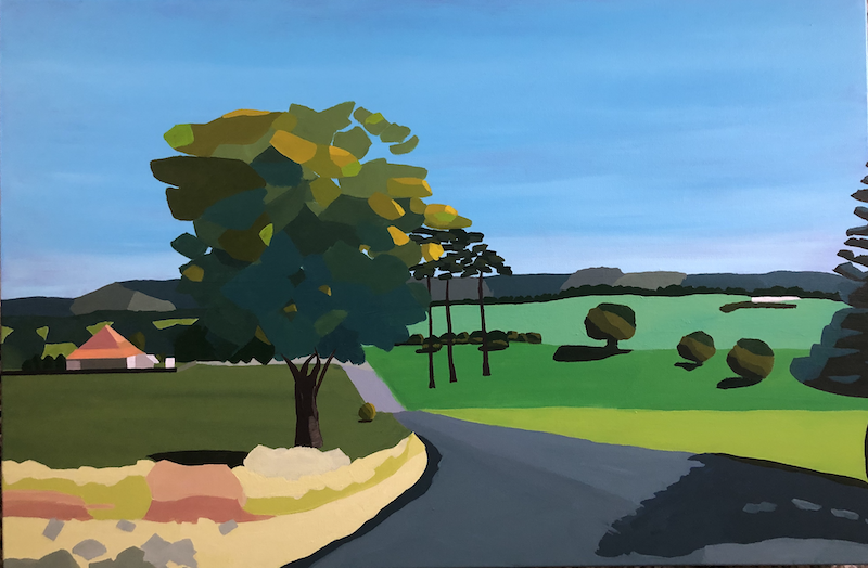 (CreativeWork) Heading Home II by Lisa Turner. Acrylic Paint. Shop online at Bluethumb.