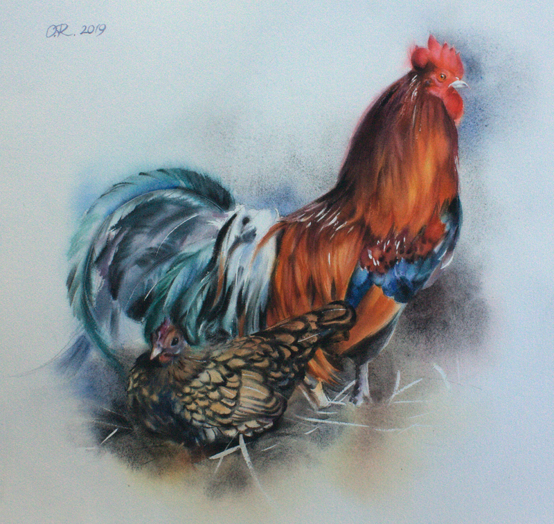 (CreativeWork) On the lookout  by Olga Read. Watercolour Paint. Shop online at Bluethumb.