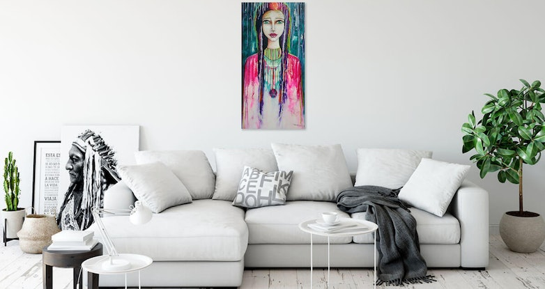 (CreativeWork) Lightbringer  Limited Edition Large Giclee Fine Art Print     by Tanya Cole. Print. Shop online at Bluethumb.