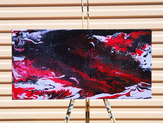 (CreativeWork) Colossus  by Joshua Lacy. Acrylic Paint. Shop online at Bluethumb.