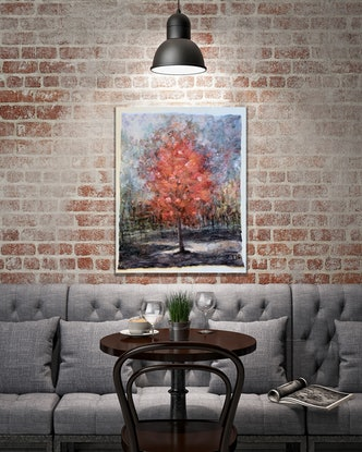 (CreativeWork) Autumn in Tuscany by Olga Finkel. Other Media. Shop online at Bluethumb.