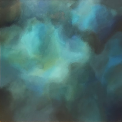 (CreativeWork) Below The Depths by Jo Carroll. Acrylic Paint. Shop online at Bluethumb.