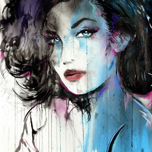 (CreativeWork) STARLET BLUE by loui jover. drawing. Shop online at Bluethumb.