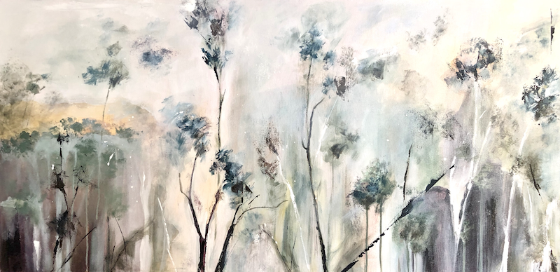 (CreativeWork) The High Country. by Marion Rispin. Acrylic Paint. Shop online at Bluethumb.