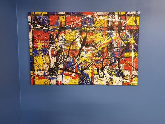 (CreativeWork) Untitled 3- XV by Joseph Mascaro. Acrylic Paint. Shop online at Bluethumb.