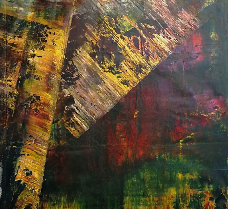 (CreativeWork) series Sublime Intoxication (4) by nicole delaney djardin. Oil Paint. Shop online at Bluethumb.