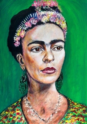 (CreativeWork) Frida Reigns Limited Edition Giclee Fine Art Print   by Tanya Cole. Print. Shop online at Bluethumb.
