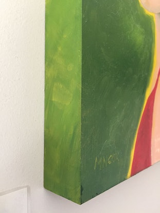 (CreativeWork) No.9 by MN Cox. Oil Paint. Shop online at Bluethumb.