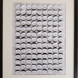 "(CreativeWork) "" Monochrome - black and white"" by Karen Coull. Mixed Media. Shop online at Bluethumb."