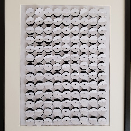 """(CreativeWork) """" Monochrome - black and white"""" by Karen Coull. Mixed Media. Shop online at Bluethumb."""