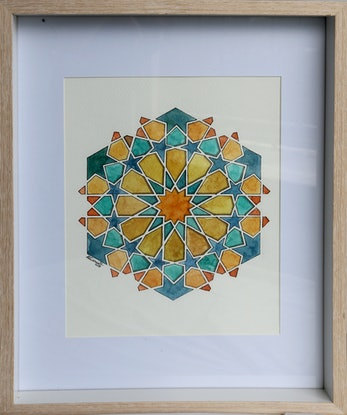 (CreativeWork) GO AUTHENTIC by Mirsai _18. Watercolour Paint. Shop online at Bluethumb.