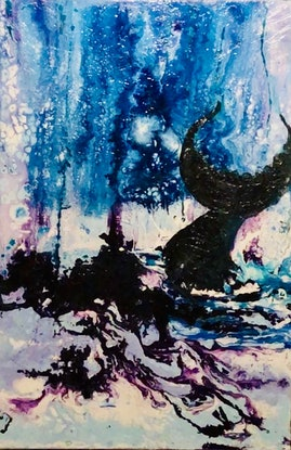 (CreativeWork) 'Looking For Whales (The Balconies-Royal National Park) by WANDA STAFFORD. Other Media. Shop online at Bluethumb.