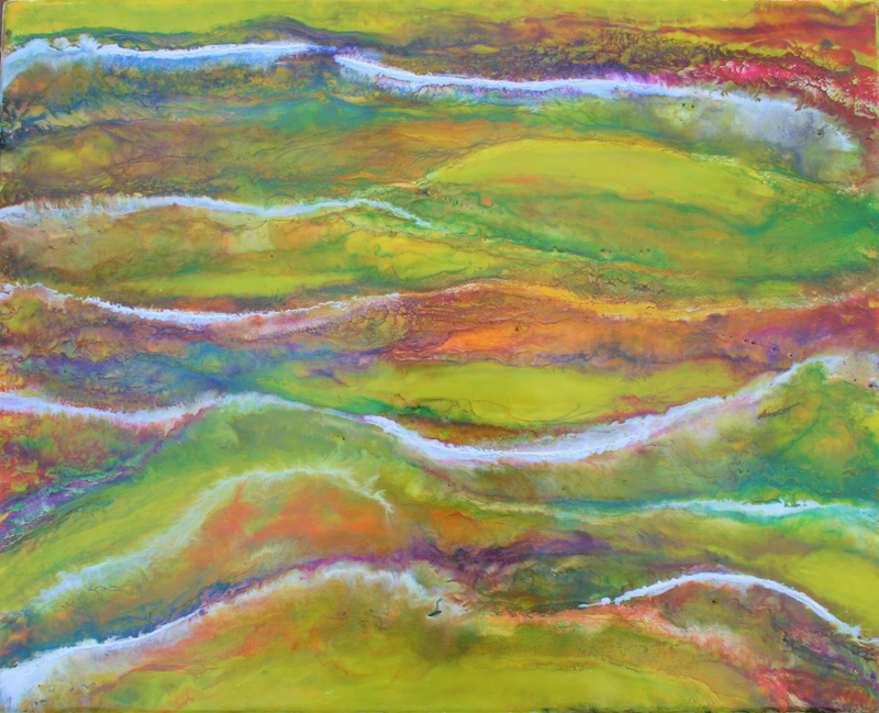 (CreativeWork) Channel Bloom by Sue Baker. Other Media. Shop online at Bluethumb.
