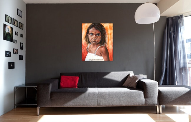 (CreativeWork) See Me Limited Edition Large Giclee Fine Art Print by Tanya Cole. Print. Shop online at Bluethumb.