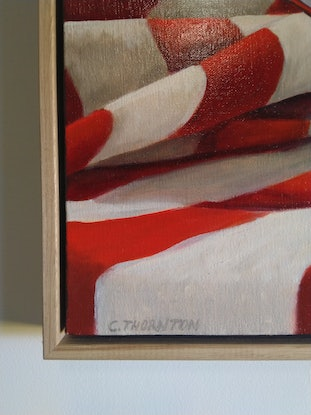(CreativeWork) Mirror, Mirror (Framed) by Casey Thornton. Oil Paint. Shop online at Bluethumb.