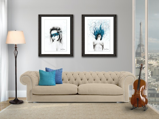 (CreativeWork) In The Moment by Ashvin Harrison. Acrylic Paint. Shop online at Bluethumb.