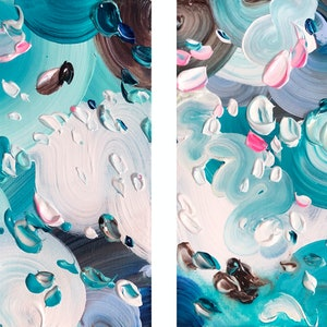(CreativeWork) Arcticus - diptych by Tatiana Georgieva. arcylic-painting. Shop online at Bluethumb.