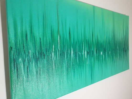 (CreativeWork) Haze by Andrew Casey. Oil Paint. Shop online at Bluethumb.