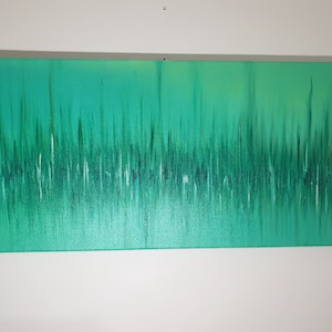 (CreativeWork) Haze by Andrew Casey. oil-painting. Shop online at Bluethumb.