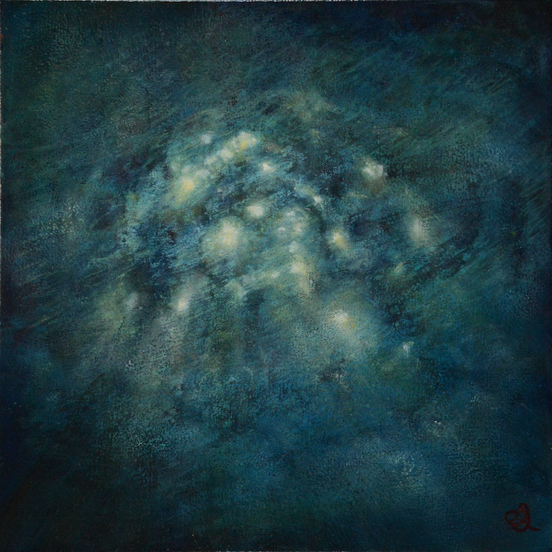 (CreativeWork) Tidal Studies II by Catherine Stringer. Oil Paint. Shop online at Bluethumb.