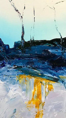 (CreativeWork) And Caverns Old by Meg Lewer. Mixed Media. Shop online at Bluethumb.