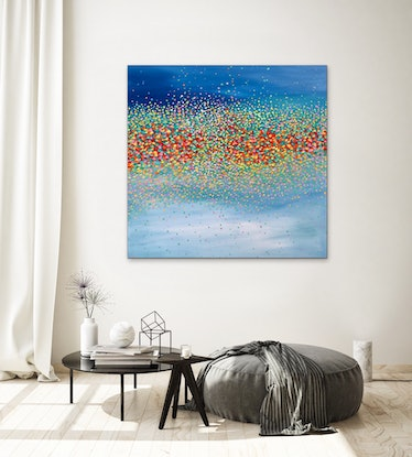 (CreativeWork) Starry Sky  by Theo Papathomas. #<Filter:0x0000557270c828e0>. Shop online at Bluethumb.