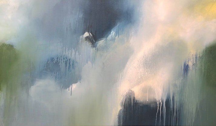 (CreativeWork) Storm Hunter by Joanne Duffy by Joanne Duffy. Acrylic. Shop online at Bluethumb.