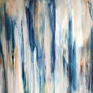 (CreativeWork) Desert Pour by Emily Snow. mixed-media. Shop online at Bluethumb.