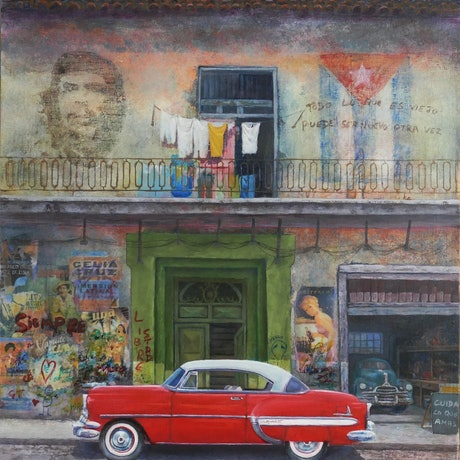(CreativeWork) Siempre by Chris Andrew. Oil Paint. Shop online at Bluethumb.