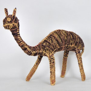 (CreativeWork) Brown Camel 1896-19 by Dianne Golding. other-media. Shop online at Bluethumb.