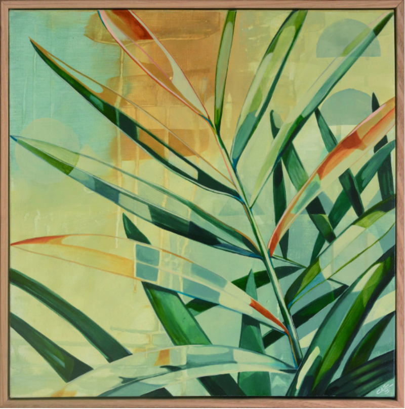 (CreativeWork) Catching Golden Rays by Tamara Armstrong. arcylic-painting. Shop online at Bluethumb.
