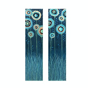 (CreativeWork) Stand Tall Diptych - Special Price by Lisa Frances Judd. acrylic-painting. Shop online at Bluethumb.