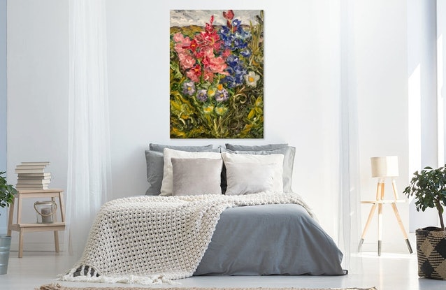 (CreativeWork) This Wild And Perfect Bunch by Tym Yee. Oil Paint. Shop online at Bluethumb.
