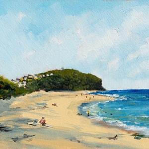 (CreativeWork) Every other sunny day by Zac Hampson. oil-painting. Shop online at Bluethumb.