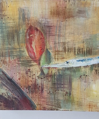 (CreativeWork) IN THE SHALLOWS by Suzy Strout. Mixed Media. Shop online at Bluethumb.