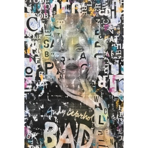 (CreativeWork) Street Icon 131 (Blondie) by Cold Ghost. mixed-media. Shop online at Bluethumb.