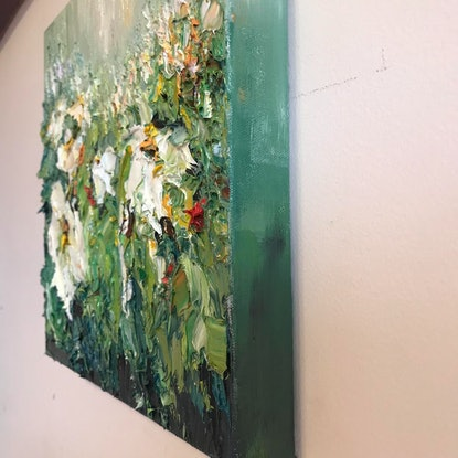 (CreativeWork) Spring delight #6 by Liliana Gigovic. Oil Paint. Shop online at Bluethumb.