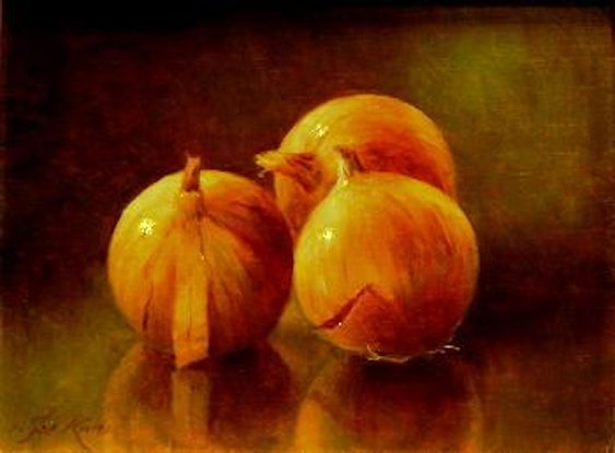 (CreativeWork) Study of 'Three Onion's    by Jos Kivits. #<Filter:0x00007f5a0aa280a8>. Shop online at Bluethumb.