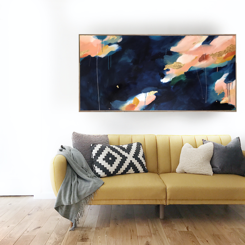 (CreativeWork) Magic In Everything by Marnie McKnight. arcylic-painting. Shop online at Bluethumb.