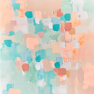 (CreativeWork) Uncontained II by Anna Bektash. arcylic-painting. Shop online at Bluethumb.