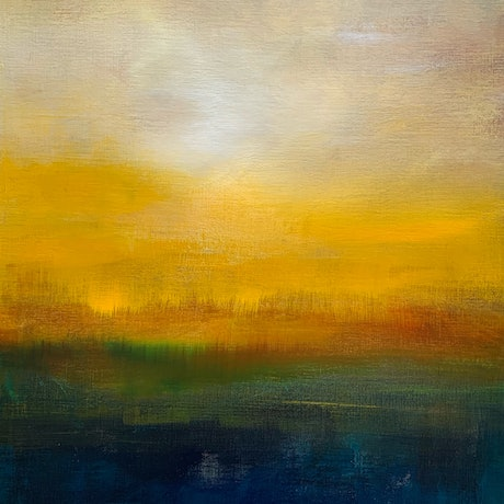 (CreativeWork) First Light No. 1 by Kris Ancog. Acrylic Paint. Shop online at Bluethumb.