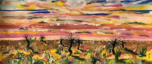 (CreativeWork) Dancing in the Desert by Jane Thompson. other-media. Shop online at Bluethumb.