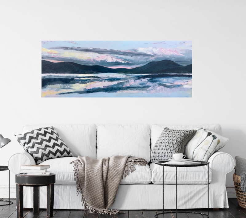 (CreativeWork) 'It's Now Or Never' Gold Coast Hinterland Landsacpe by Michelle Keighley. #<Filter:0x00007f97a0f2dc50>. Shop online at Bluethumb.